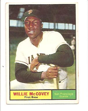 1961 Topps #517 Willie McCovey