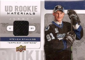 2008-09 Upper Deck Rookie Materials #RMSS Steven Stamkos