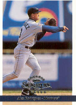 1997 Donruss Signature #61 Alex Rodriguez