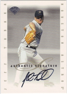 1996 Leaf Signature Extended Autographs #197 Jeff Tabaka