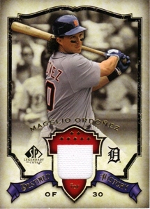 2008 SP Legendary Cuts Destined for History Memorabilia #MO Magglio Ordonez