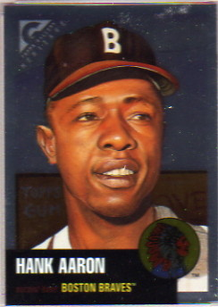 1999 Topps Gallery Heritage Proofs #TH1 Hank Aaron
