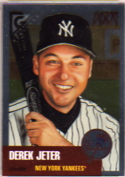 1999 Topps Gallery Heritage Proofs #TH9 Derek Jeter