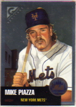 1999 Topps Gallery Heritage Proofs #TH17 Mike Piazza