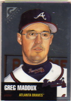 1999 Topps Gallery Heritage Proofs #TH18 Greg Maddux
