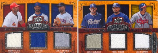 2008 Upper Deck Ballpark Collection #256 Albert Pujols/Derrek Lee/Carlos Delgado/Adrian Gonzalez/Prince Fielder/Adam LaRoche
