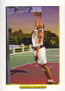 2006-07 Topps Turkey Red White #35 Andre Iguodala Ad Back