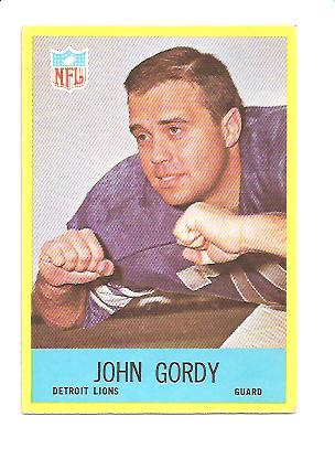 1967 Philadelphia #64 John Gordy