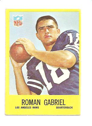 1967 Philadelphia #88 Roman Gabriel