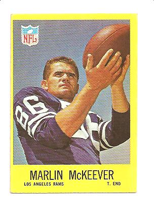 1967 Philadelphia #92 Marlin McKeever