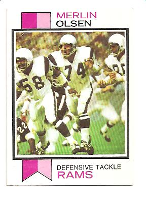 1973 Topps #479 Merlin Olsen