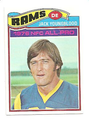 1977 Topps #80 Jack Youngblood