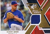 2009 SPx Game Jersey #GJKW Kerry Wood