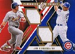 2009 SPx Flashback Fabrics #FFJE Jim Edmonds