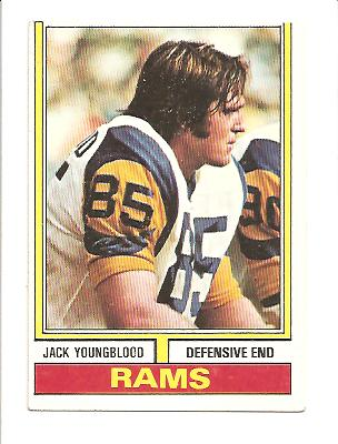 1974 Topps #509 Jack Youngblood
