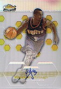 2002-03 Finest Refractors #118 Vincent Yarbrough AU
