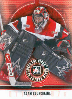 2008-09 Between The Pipes #1 Adam Courchaine