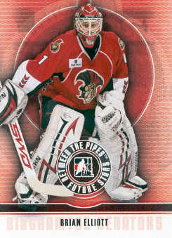 2008-09 Between The Pipes #7 Brian Elliott