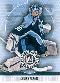 2008-09 Between The Pipes #10 Chris Carrozzi