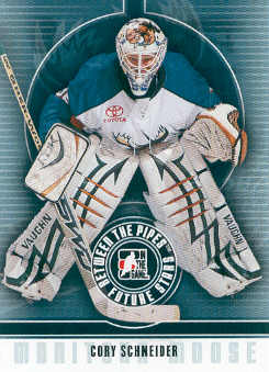 2008-09 Between The Pipes #12 Cory Schneider