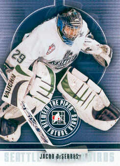 2008-09 Between The Pipes #17 Jacob DeSerres