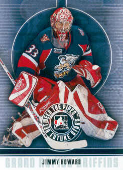 2008-09 Between The Pipes #21 Jimmy Howard