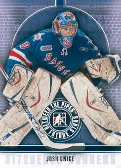 2008-09 Between The Pipes #25 Josh Unice