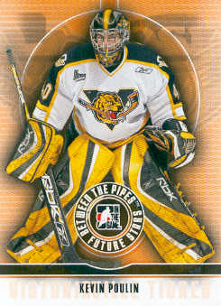2008-09 Between The Pipes #27 Kevin Poulin