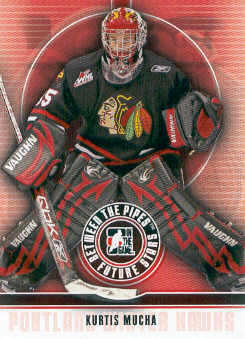 2008-09 Between The Pipes #28 Kurtis Mucha