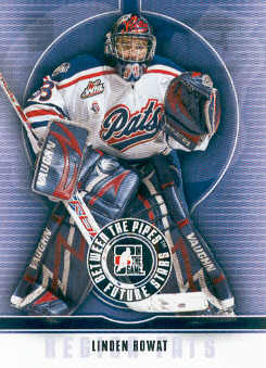 2008-09 Between The Pipes #31 Linden Rowat