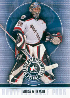 2008-09 Between The Pipes #34 Miika Wiikman