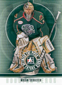 2008-09 Between The Pipes #36 Nolan Schaefer