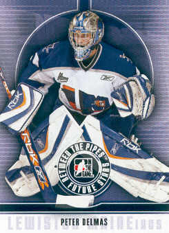 2008-09 Between The Pipes #40 Peter Delmas