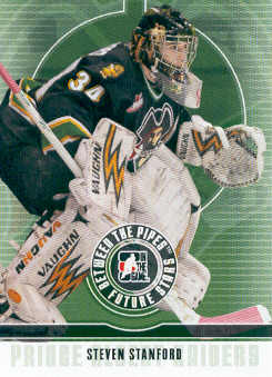 2008-09 Between The Pipes #44 Steven Stanford