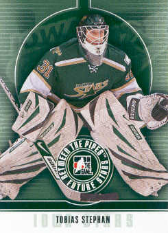 2008-09 Between The Pipes #46 Tobias Stephan