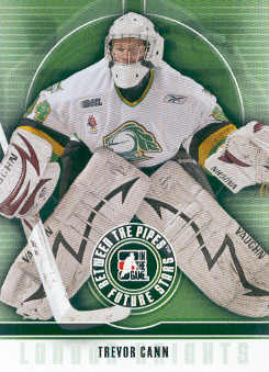 2008-09 Between The Pipes #47 Trevor Cann