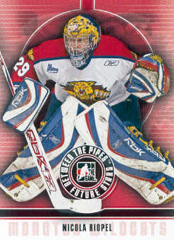 2008-09 Between The Pipes #51 Nicola Riopel