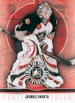 2008-09 Between The Pipes #53 Jhonas Enroth