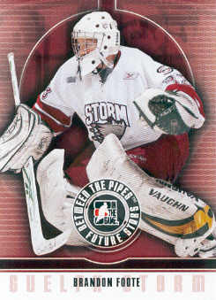 2008-09 Between The Pipes #54 Brandon Foote