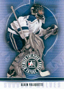 2008-09 Between The Pipes #55 Alain Valiquette