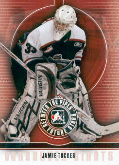 2008-09 Between The Pipes #56 Jamie Tucker