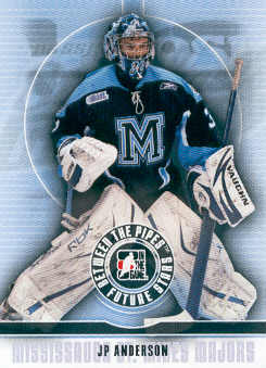 2008-09 Between The Pipes #57 J.P. Anderson