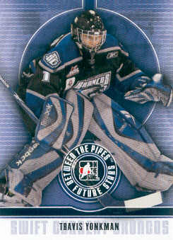 2008-09 Between The Pipes #58 Travis Yonkman