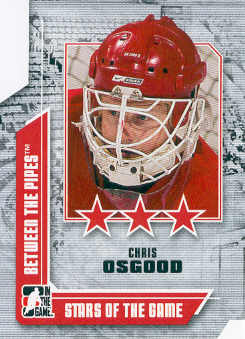 2008-09 Between The Pipes #61 Chris Osgood