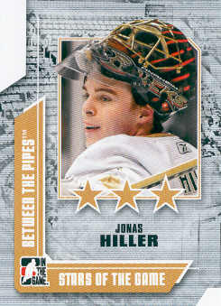 2008-09 Between The Pipes #62 Jonas Hiller