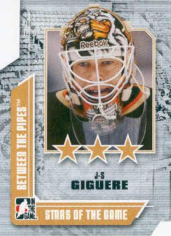 2008-09 Between The Pipes #64 Jean-Sebastien Giguere
