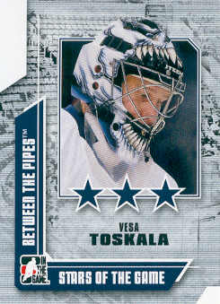 2008-09 Between The Pipes #65 Vesa Toskala