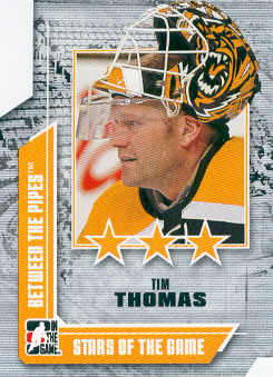 2008-09 Between The Pipes #69 Tim Thomas