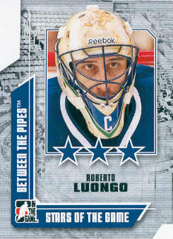 2008-09 Between The Pipes #72 Roberto Luongo