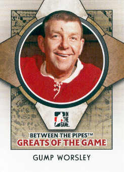 2008-09 Between The Pipes #75 Gump Worsley